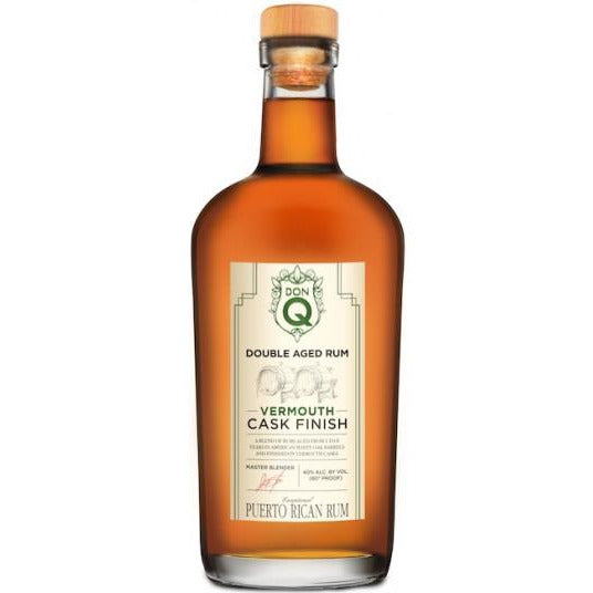 Don Q Doubled Aged Rum Vermouth Cask Finish 750 mL