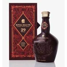 Royal Salute 29 Year Blended Scotch Whisky (750mL)