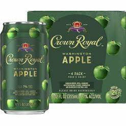 Crown Royal Washington Apple Whisky Cocktail - 4pk/12 fl oz Cans