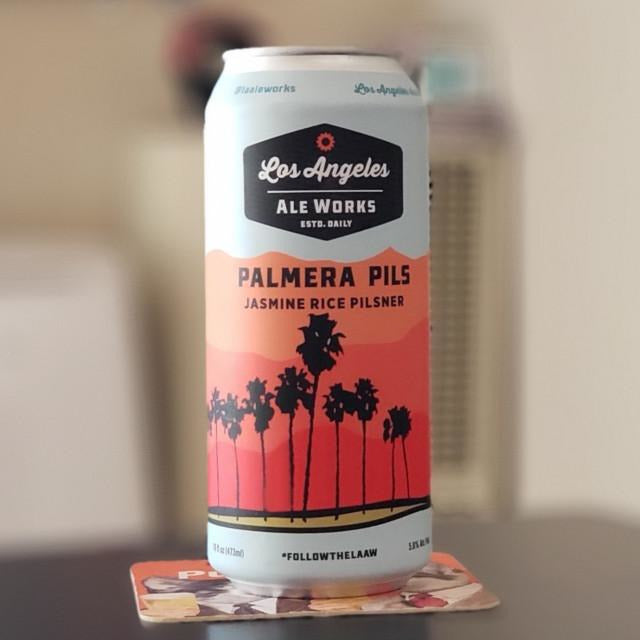 Los Angeles Ale Works - Palmera PILS Pilsner - 16 oz