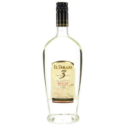 El Dorado Cask Aged 3 Years Rum 750 ML