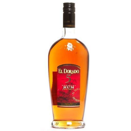 El Dorado Cask Aged 5 Years Rum 750 ML