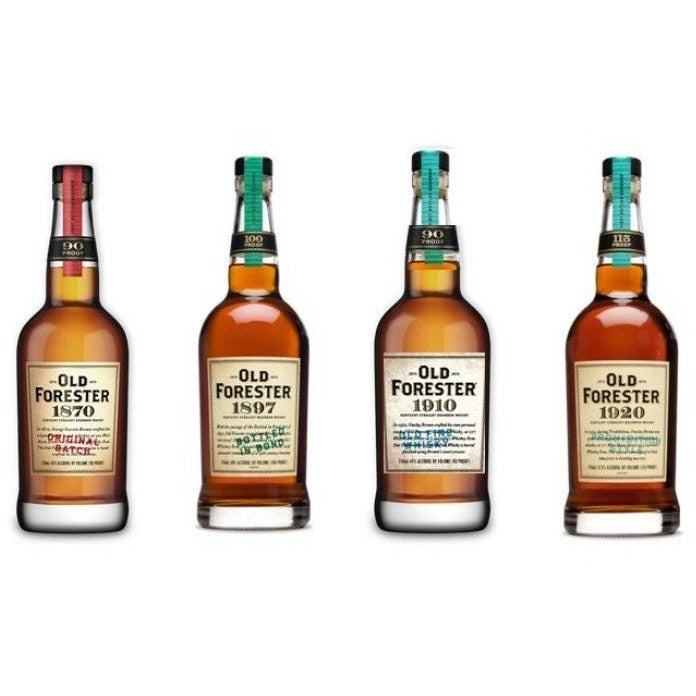 Old Forester Whiskey Bundle for AAJ AMPED-UP Virtual Bourbon Tasting Presented by Gavl Video, LLC