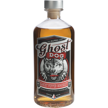 Ghost Dog Ghost Pepper Whiskey 750 mL