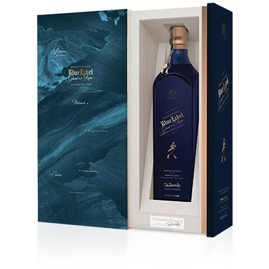 Johnnie Walker Blue Label – Ghost and Rare Brora 750 mL