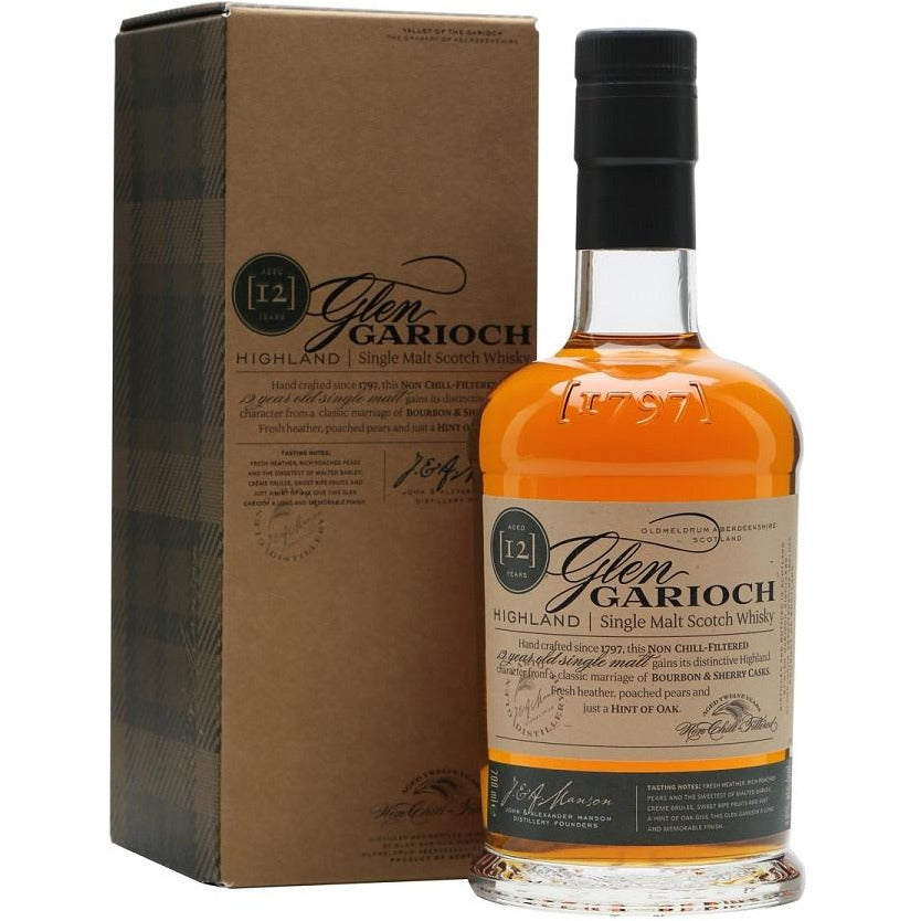 Glen Garioch 12 Year Highland Single Malt Whisky 750 mL