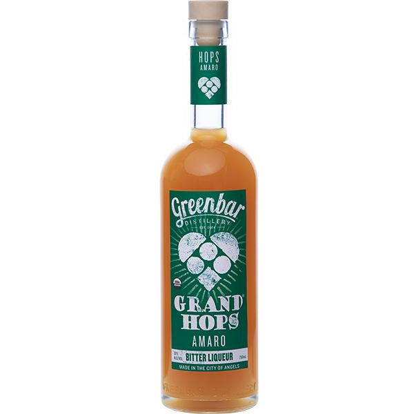 Greenbar Organic Grand Hops Amaro (750 ML)
