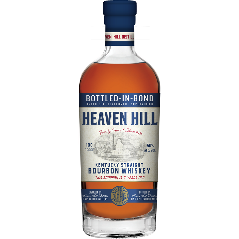 Heaven Hill Bottled in Bond 7 Year Kentucky Straight Bourbon Whiskey 750 mL