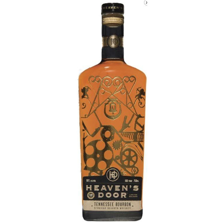 Bob Dylan's Heavens Door 10 Year Straight Bourbon Whiskey 750 mL