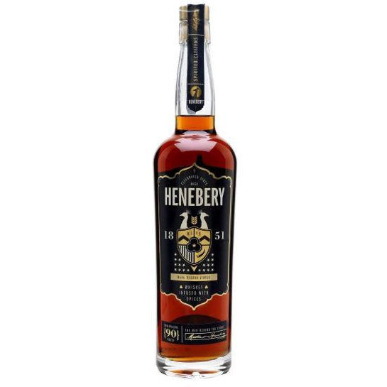 Henebery Small Batch Infused Rye Whiskey with natural Flavors 750 ML