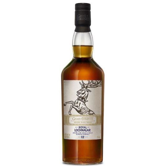 Game of Thrones House Baratheon Royal Lochnagar 12 Year Scotch 750 ML