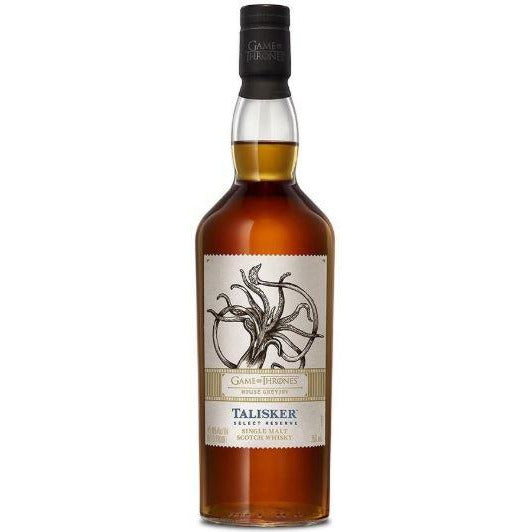 Game of Thrones House Greyjoy Talisker Select Reserve 750 ML