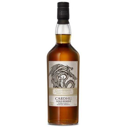Game of Thrones House Targaryen Cardhu Gold Reserve 750 ML