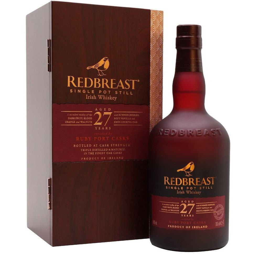 Redbreast 27 Year Single Pot Still Ruby Port Cask (750 mL)