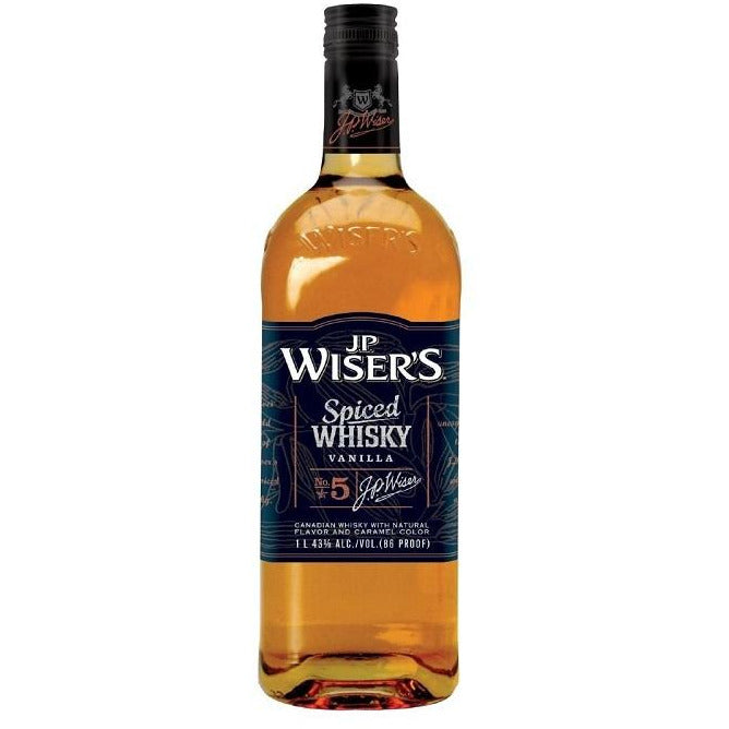 J.P. Whisers Spiced Whisky Vanilla No. 5 1 Liter
