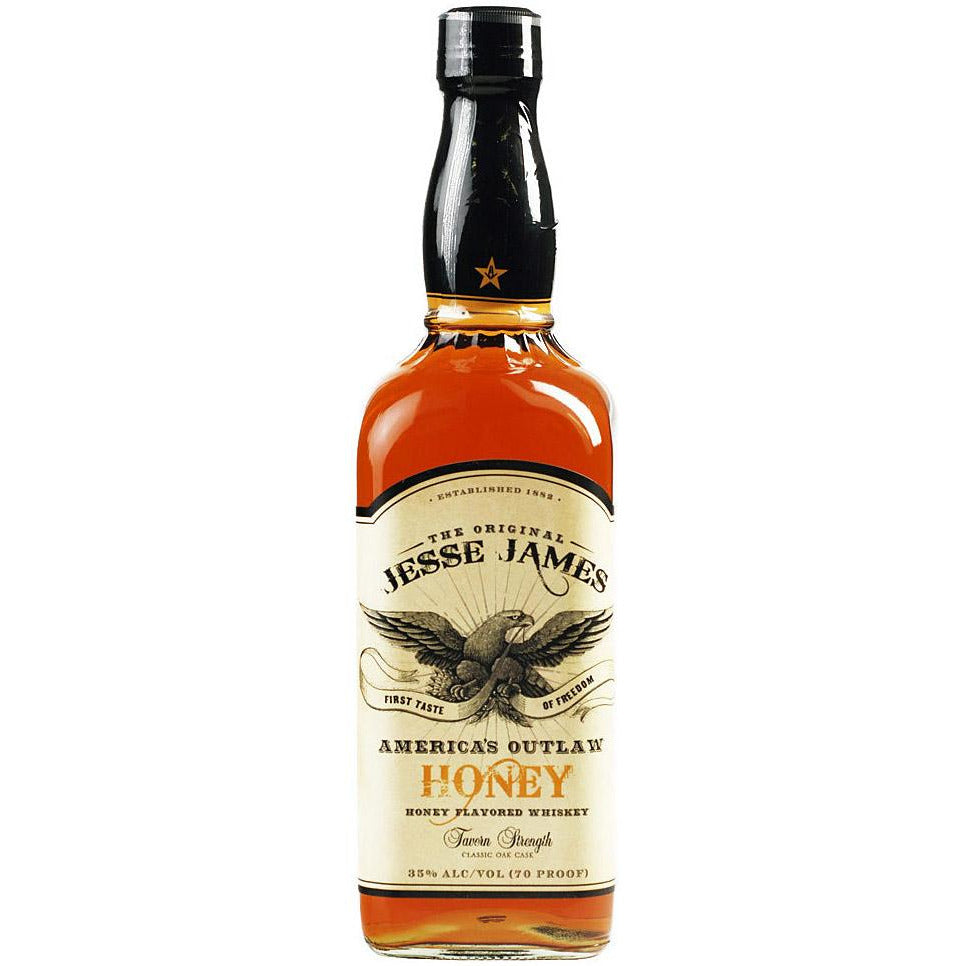 Jesse James American Outlaw Honey Whiskey 750 mL