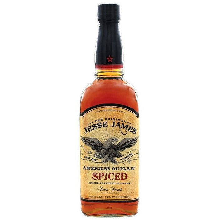Jesse James American Outlaw Spiced Whiskey 750 mL