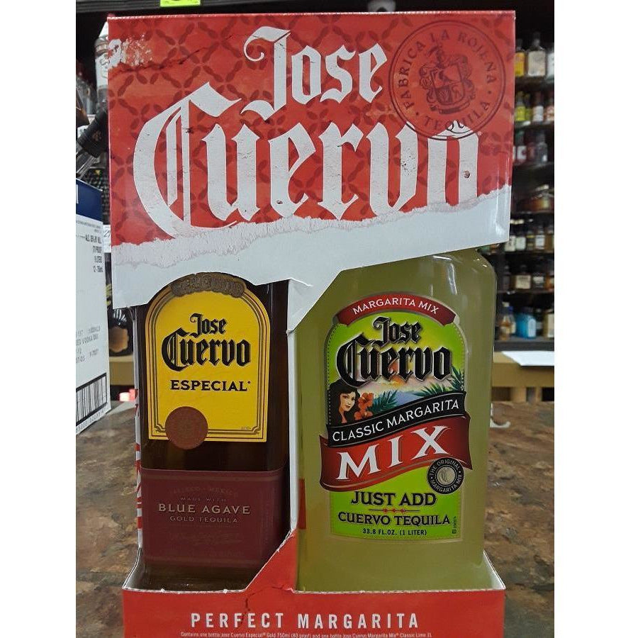 Jose Cuervo Gold Tequila Gift Set