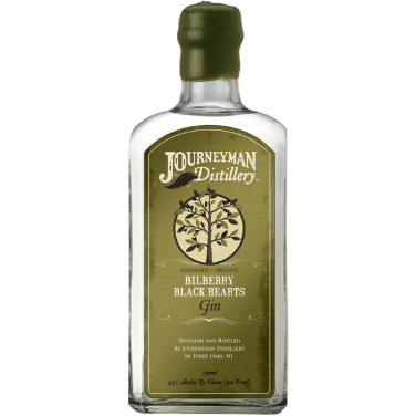 Journeyman Bilberry Black Hearts Gin (750 ML)