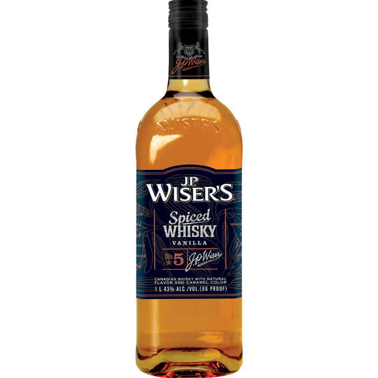 J.P. Whisers Spiced Whisky Vanilla No. 5 750 Ml