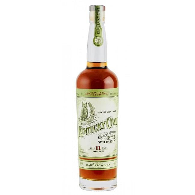 Kentucky Owl Straight Rye Whiskey Batch No. 1 (750 ML)