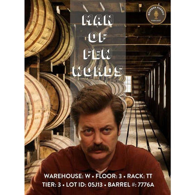 Knob Creek Select Bourbon Man of Few Words Bourbon Pursuit N Keg N Bottle Private Barrel Pick 750 ML