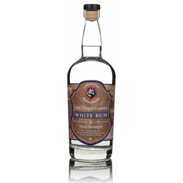 Liberty Call Distilling Co. White Rum Navy Strength 750 ML