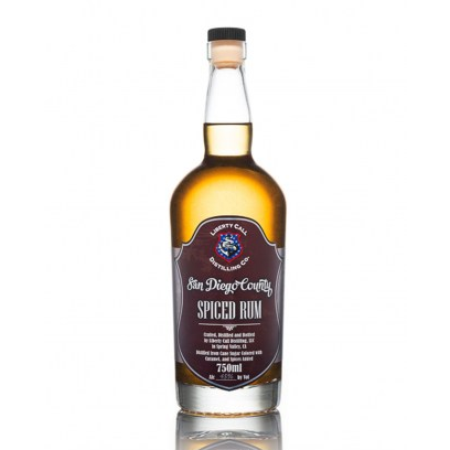 Liberty Call Distilling Spiced Rum 750 ML