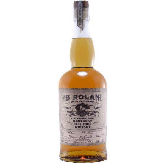 MB Roland  Dark Fired Whiskey 750 ML