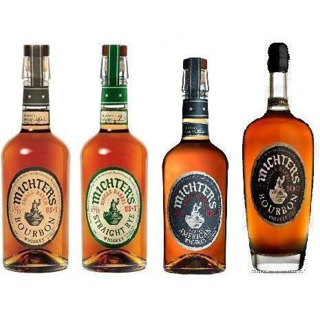 Michters 10 Year Bourbon with 3 Tuesday Bourbons Combo Pack