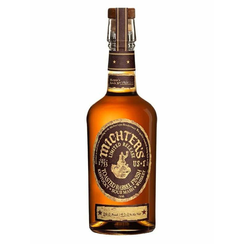 Michters Toasted Barrel Finish Sour Mash 750 mL