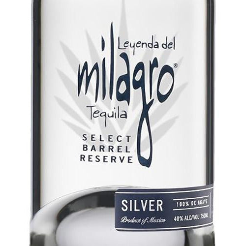 Milagro Select Barrel Reserve Silver (750mL)