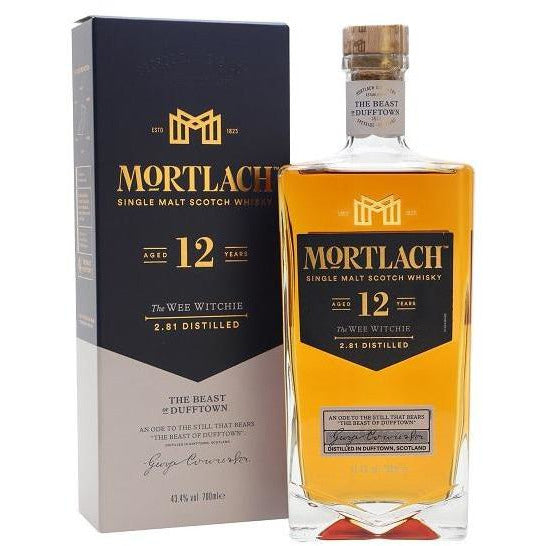 Mortlach Single Malt Scotch Whiskey 12 year 750 ml