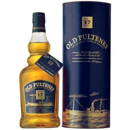 Old Pulteney Single Malt 17 Years Scotch Whisky 750 ML
