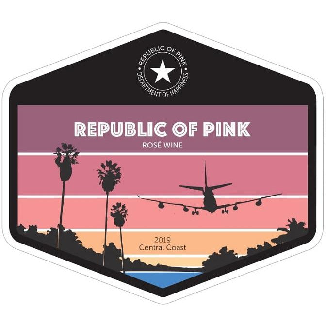 Republic Of Pink Rose 2019 Central Coast 750 ml