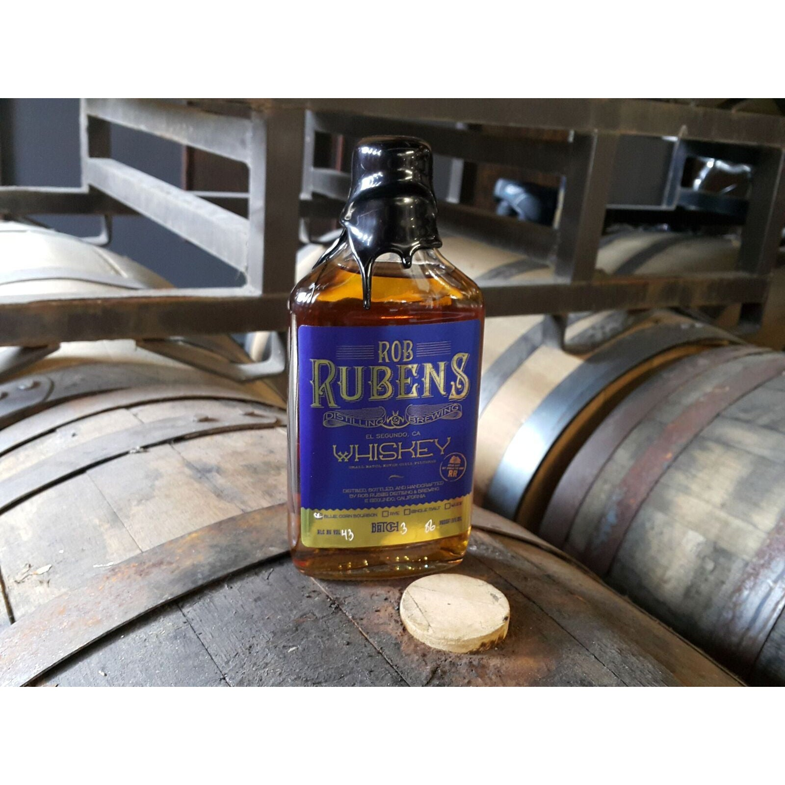 Rob Rubens Bourbon 750 mL