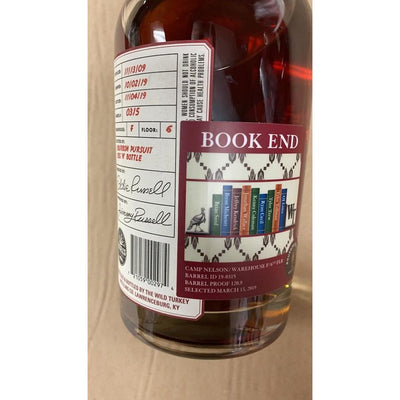"Wild Turkey Russell's Reserve ""Book End"" Bourbon Pursuit & Keg N Bottle Pick 750 mL"