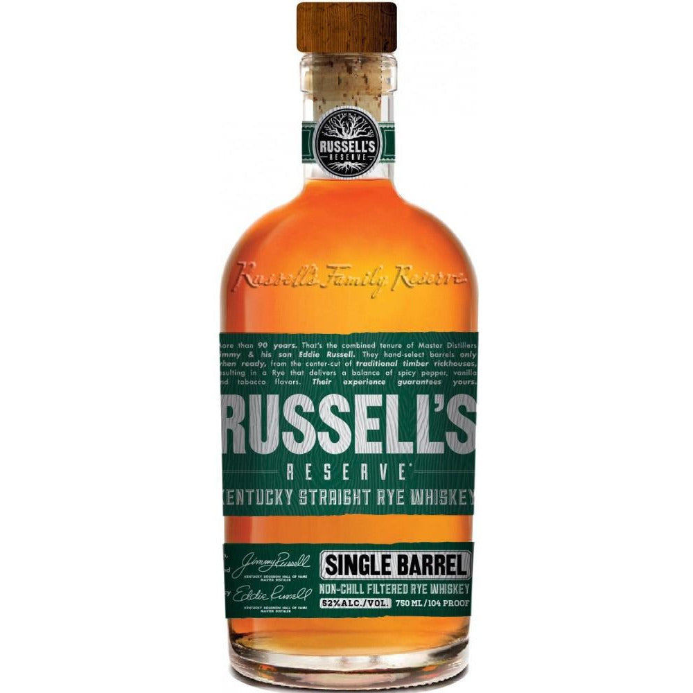 Russells Reserve Single Barrel Straight Rye 750 Ml