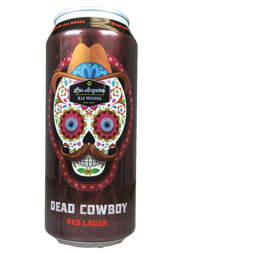 Los Angeles Ale Works - Dead Cowboy Red Lager - 16 oz
