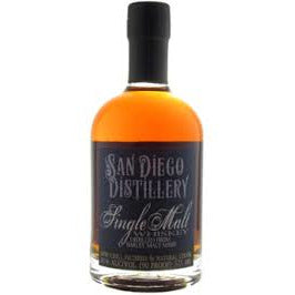 San Diego Distillery Single Malt Whiskey 375 Ml