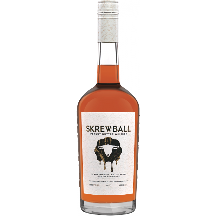 Skrewball Peanut Butter Flavored Whiskey 750 ML