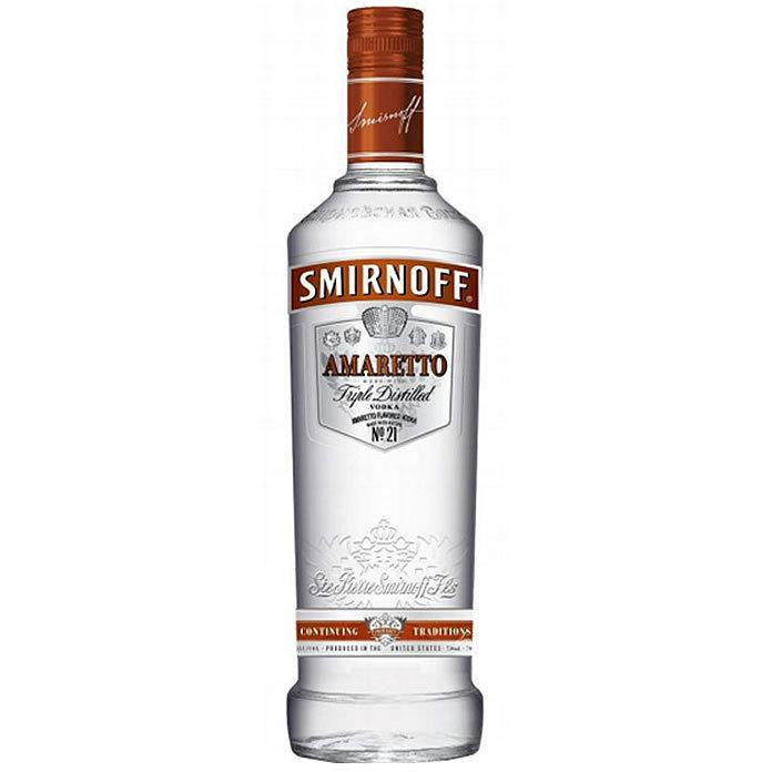 Smirnoff Amaretto Flavored Vodka 750 mL
