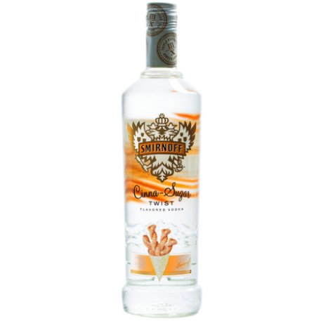 Smirnoff Cinna-Sugar Twist Vodka 750 mL