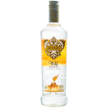 Smirnoff Wild Honey Vodka 750 mL