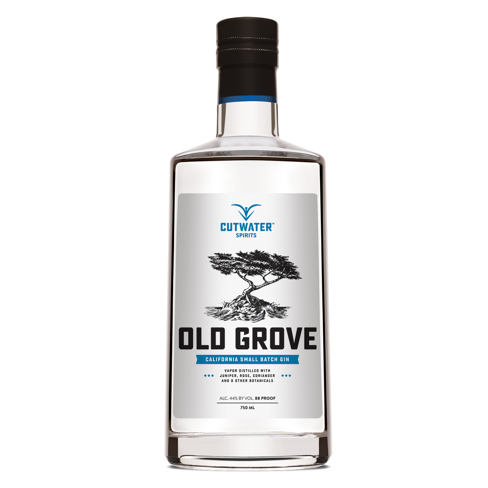 Cutwater Old Grove Gin 750 Ml