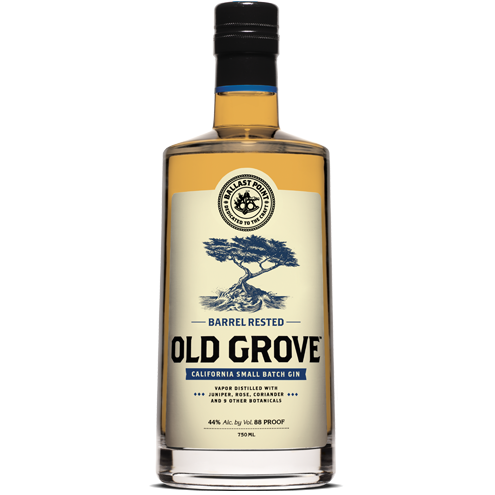 Old Grove Barrel Rested California Small Batch Gin By Ballast Point 750 Ml