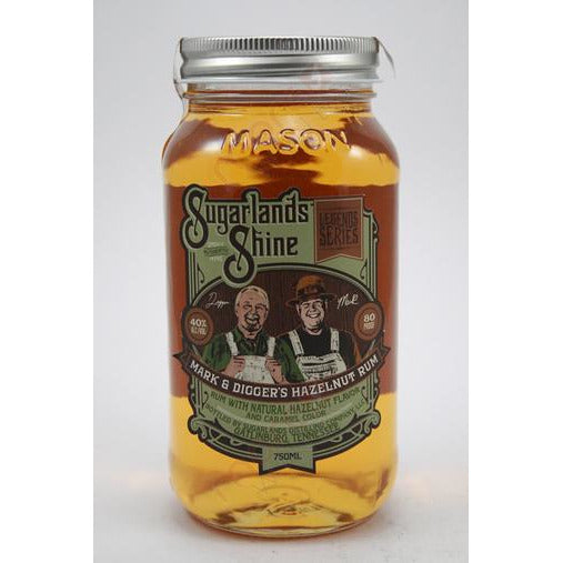 Sugarlands Shine Mark & Digger's Hazelnut Rum (750 ML)