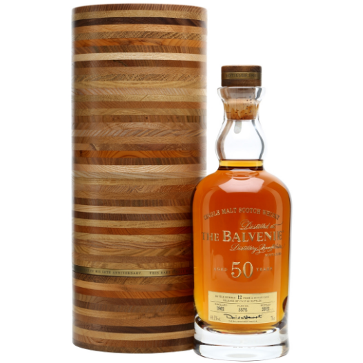 The Balvenie 50 Year Whisky (750 ML)