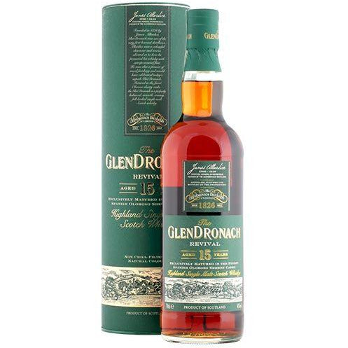 The Glendronach 15 Year Revival Scotch Whisky (750 ML)