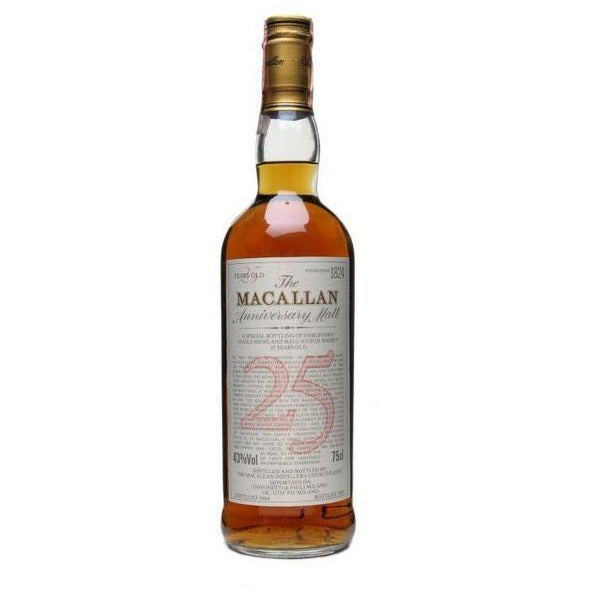 The Macallan Anniversary 25 Year Scotch Whiskey